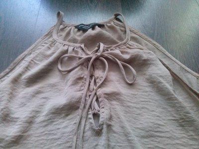 Dorothy Perkins майка-туника песочного цвета,р-р 14
