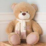 Плюшевая игрушка медведь, Тедди 130 см, разные цвета