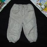 Тёплые штаны Okay 9-12мес 74-80см Мега выбор обуви и одежды