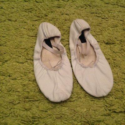Кожанные балетки 24 см