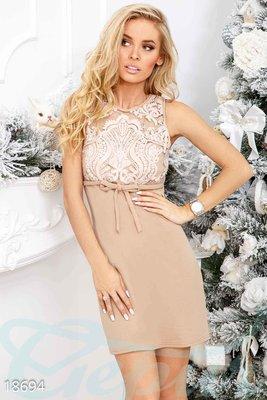 Коктейльное платье бантик