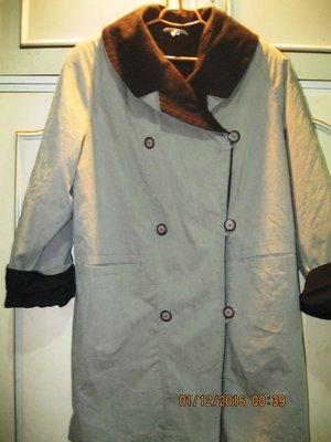 Плащ-Пальто утепленное женское 48 размера