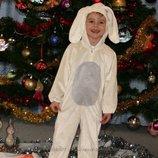 Новогодний костюм зайчика на 3-4-5 года на прокат Киев