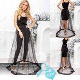 Эксклюзивная накидка платье