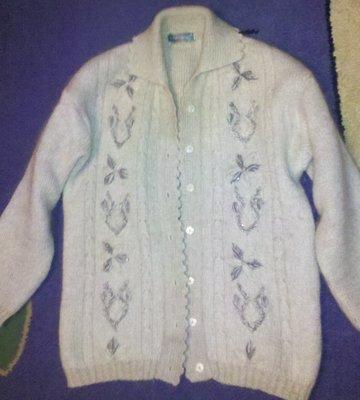теплый свитер шерсть мохер р 48-50