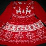 Теплое платье Y.d. 1,5-2г