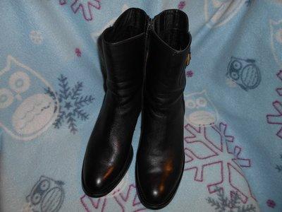 натуральная кожа Сапоги ботинки ботильоны демисезон р 40