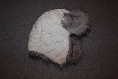 Теплая зимняя шапка р.1-3 года