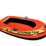 Надувная лодка Intex 58355 Explorer Pro 100, 160 х 94 х 29 см