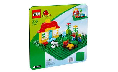 огромная базовая зеленая строительная пластина Лего Дупло Lego Duplo 2304 Дания оригинал