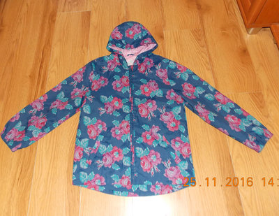 Красивая куртка-ветровка TU для девочки 9-10 лет. 134-140 см