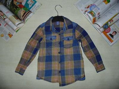 Моднячая рубашк DopoDopo 2-3г 92-98см Мега выбор обуви и одежды