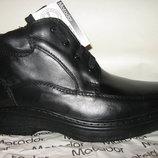 Зимние ботинки типа комфорт натур.кожа натур.шерсть р.40-45 фирма Motodor