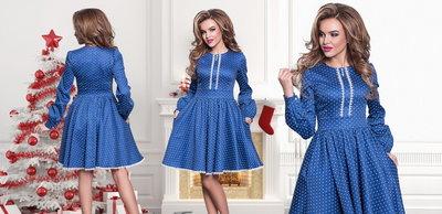 Платье женское стрейч-джинс р 42, 44, 46