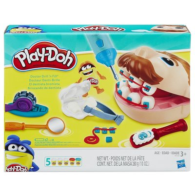 Play-Doh Doctor Drill 'n Fill Retro Pack Набор Плей до Зубастик второй выпуск