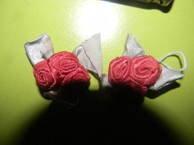 розы декорные на одежду