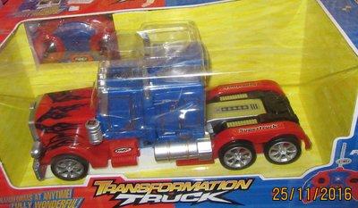 Машина-Трансформер Оптимус Прайм, радиоуправление, аккумулятор