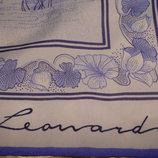 платок Leonardi принт На лугу полиэстер 75Х75