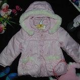 Гламурная куртка Mayoral 9-12м 74-80см Мега выбор обуви и одежды