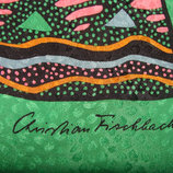 платок Christian Fischbacher оригинал шелк Швейцария 85Х88 см