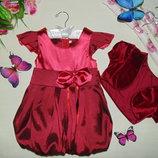 Нарядное платье на 18-24мес 86-92см Мега выбор обуви и одежды