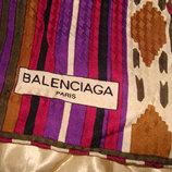 платок Balenciaga Paris оригинал шелк 85Х88