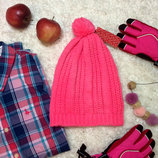 Теплая шапка, яркая шапочка H&M, хомут, снуд