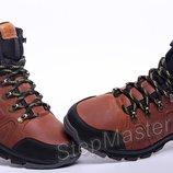 Ботинки кожаные зимние Timberland Pro-Men Brown