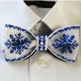 Новогодний галстук - бабочка