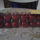 Новогодние сапожки шарики Новый год дом интерьер украшение