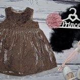 1 - 2 года 86 см H&M Очень нарядное романтичное и пышное платье сарафан моднице