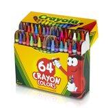 Crayola Набор восковых карандашей 64 цвета 64 Ct Crayons