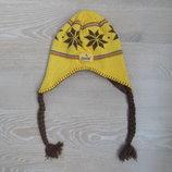 шапка детская 4-6 л желтая