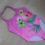 купальник 14-15 л детский море бассейн розовый новый Miss Evie