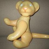 Старинная редкая кукла крупный Лев целлулоид шостка 35см ссср