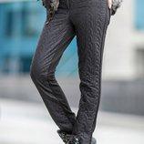 Теплые и модные зимние брюки