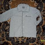 Байковая рубашка для сна на мальчика 98-104см рост