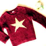 Теплый свитер F&F 2-3г