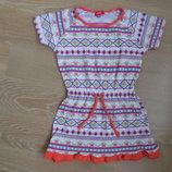 платье туника 104-110 см девочке детская новая Girl2Girl герл2герл