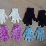 Перчатки Детские Девочке Теплые Очень Зимние