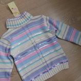 свитер 4-5 л кофта новый девочке с биркой гольф фирменный Laura Ashley