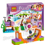Конструктор Bela Friends 10491 Скейт-Парк аналог Lego Friends 41099