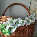 Пасха, пасхальный декор корзины, цветы, пасхальная корзина