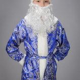 Прокат костюма новий рік, дід Мороз, святий Миколай на 5-6, 7-10, 8-12 років.