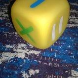 Резиновый яркий кубик для развития ребенка,учим математику