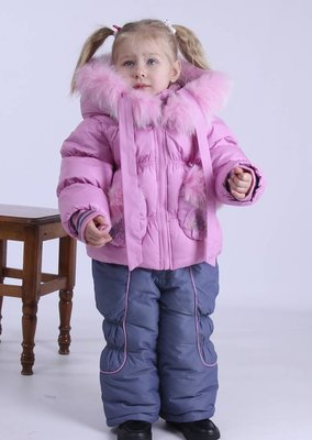 98, 104 размер Костюм зимний для девочки KIKO кико комбинезон и куртка зимовий костюм