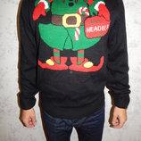 свитер мужской новогодний стильный модный рL