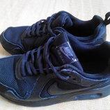 Кроссовки чёрные фирменные Nike Air Max р.36-23см