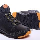 Ботинки кожаные зимние Timberland Pro-Men Black