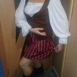 Карнавальный костюм Пиратки. Взрослый.